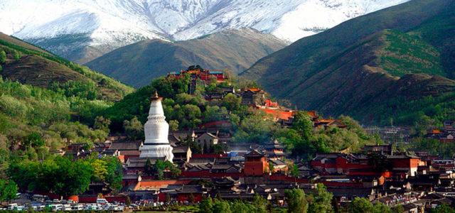 """Texto: """"La anciana del monte Wutai»"""